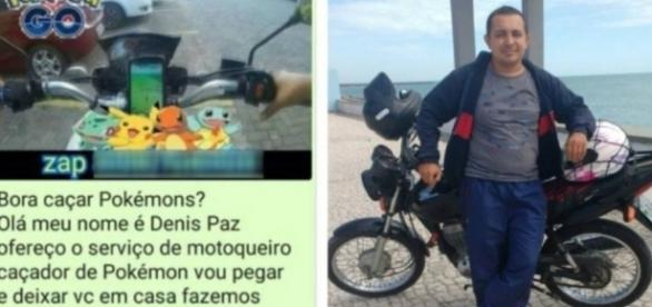 Motoboy lança o 'PokéMoto', para caçar pokémons