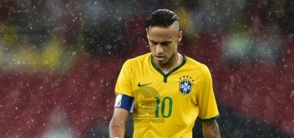 Neymar, atacante da Seleção Brasileira