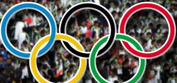 O símbolo dos Jogos Olímpicos. Imagem: Pixabay/Reprodução livre.