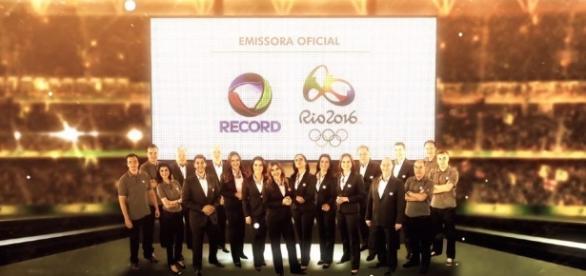 """Record fazendo """"Olimpíada"""" com sabedoria"""