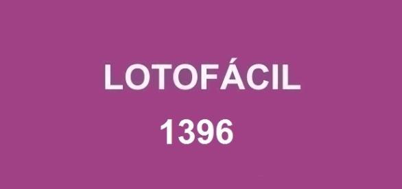 Resultado da Lotofácil 1396 com prêmio de R$ 1.700.000,00