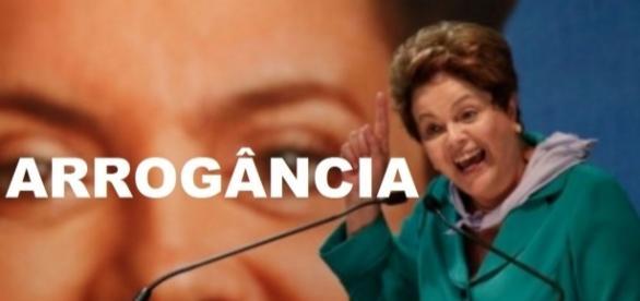 Dilma é arrogante até no julgamento