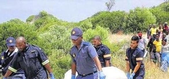 Foto divulgada a imprensa sobre a morte do pastor