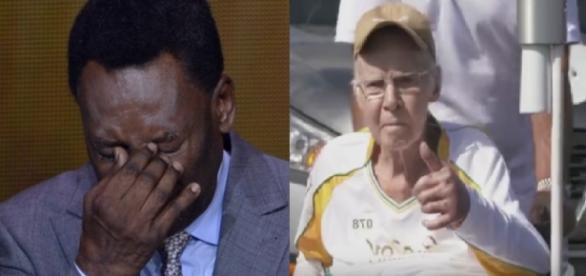 Pelé não acenderá tocha olímpica