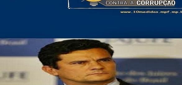 Sérgio Moro na luta contra a corrupção