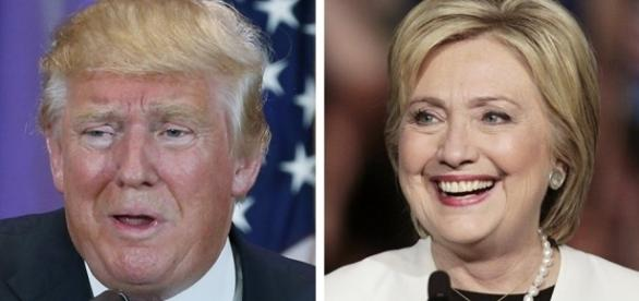 Trump and Hillary.... - sputniknews.com