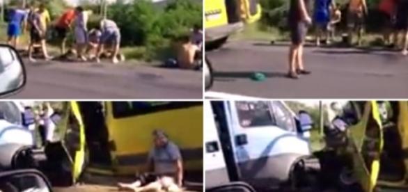 Accident cu 20 de victime în Hunedoara