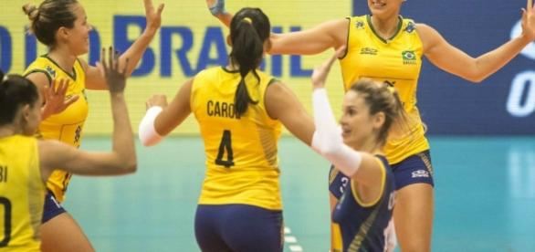 Brasil x Camarões: vôlei feminino ao vivo na TV