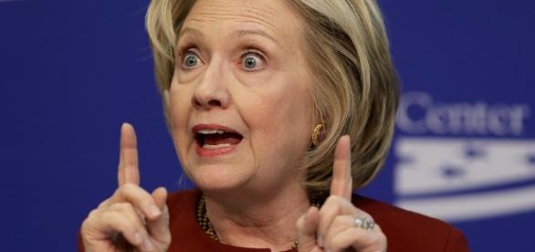 Hillary Clinton Short Circuits.... a new political term? Photo: Blasting News Library- progressivestoday.com