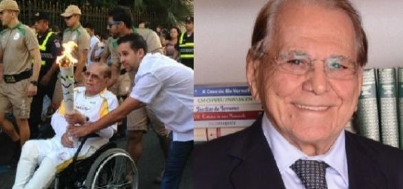 Ivo Pitanguy morre após segurar tocha (Divulgação/Internet)