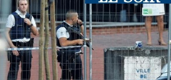 La police locale a reçu des renforts de la police nationale pour intervenir à Charleroi