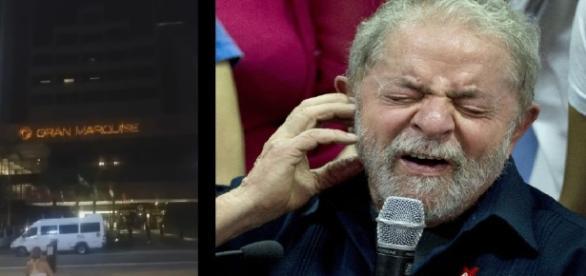 Lula é hostilizado por moradores de rua