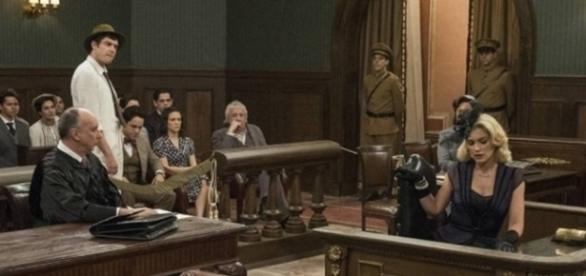 Sandra será julgada por seus crimes (Divulgação/Globo)