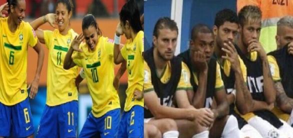 Marta humilha Neymar e prova que futebol é coisa de quem quer se esforçar
