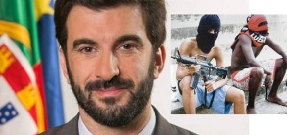 Ministro de Portugal é assaltado