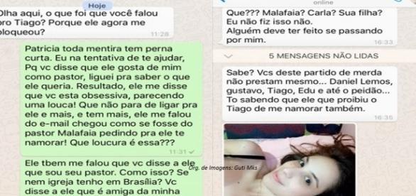 Prints do WhatsApp mostram conversa comprometedora da suposta vítima