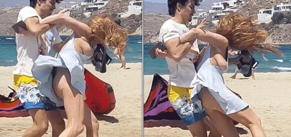 Violente altercation entre Igor, son fiancé, et Lindsay Lohan