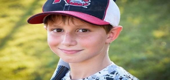 Caleb Schawb tinha 10 anos e não resistiu