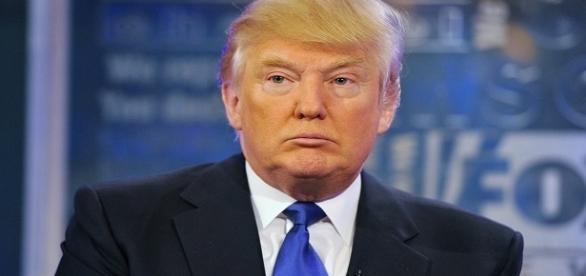Il candidato repubblicano Donald Trump.