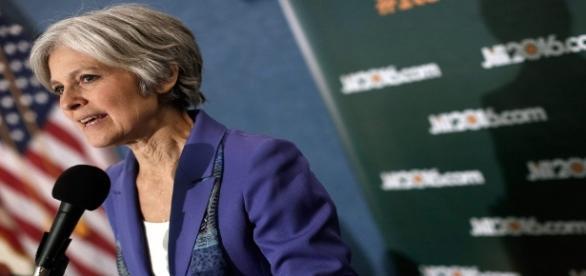 La candidata del Green Party Jill Stein.