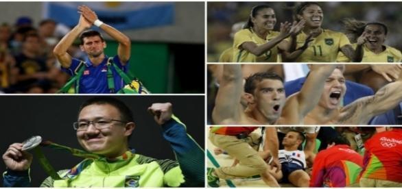 Olimpíadas começaram com muita emoção no Rio de Janeiro
