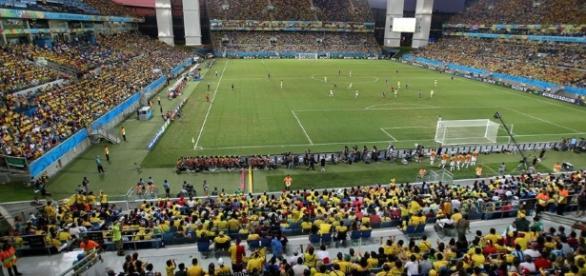 Arena Pantanal, em Cuiabá, pode receber Fluminense e Pameiras pelo Brasileirão (Foto: Arquivo)