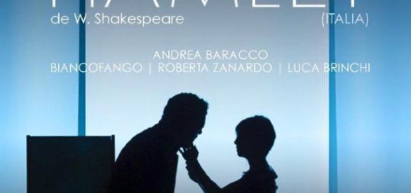 Cartel oficial de la obra en Bellas Artes.