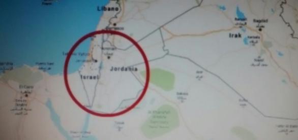 Google maps quita a palestina del mapa