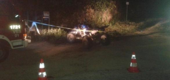 Jovem imigrante português morreu no local do acidente