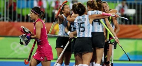Las Leonas rugieron fuerte en su segundo compromiso en los Juegos Olímpicos de Río de Janeiro