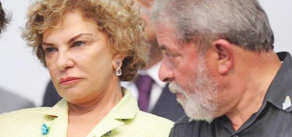 Marisa Letícia e Lula - Foto/Reprodução