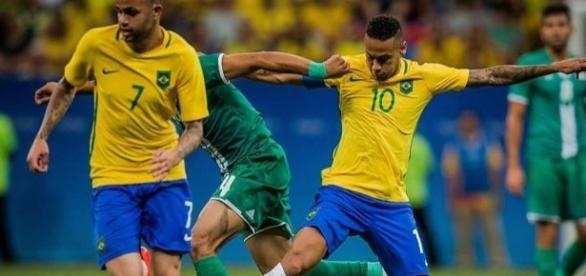Neymar quer evitar vexame histórico da seleção, que pode ser eliminada na primeira fase das Olimpíadas.