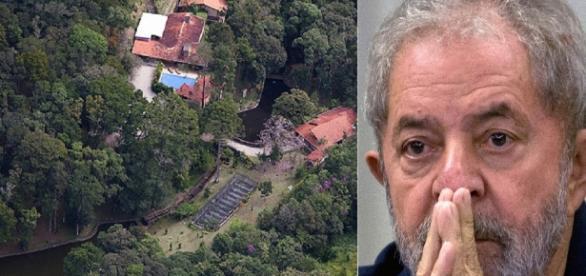 Polícia Federal quer explicações sobre as reformas realizadas no sítio de Atibaia(SP), atribuído à Lula e sua família