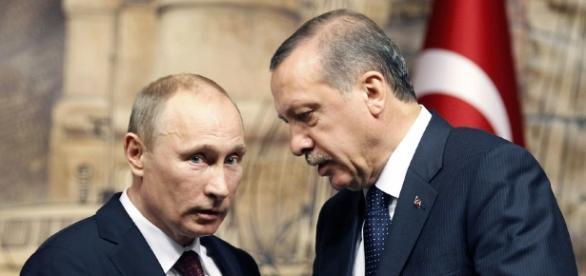Prezydenci: Putin oraz Erdogan
