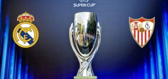 Real Madrid e Sevilha discutem a conquista da Supertaça Europeia