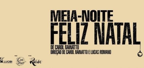 Cartaz oficial da peça da Cia. do Ruído