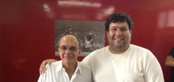 Eduardo Bandeira quer uma melhor valorização da Globo para o Flamengo no Carioca (Foto: Blog Ser Flamengo)