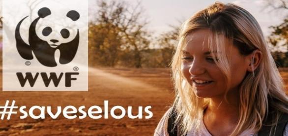 Kelly aka MissesVlog in Selous.