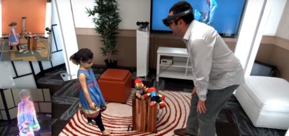 L'Holoportation : la réalité mixée de Microsoft