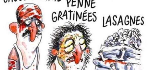 La viñeta de Charlie Hebdo que ha indignado a los italianos