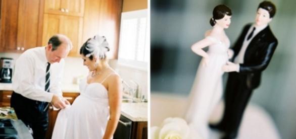 Mulher é processada por casar grávida