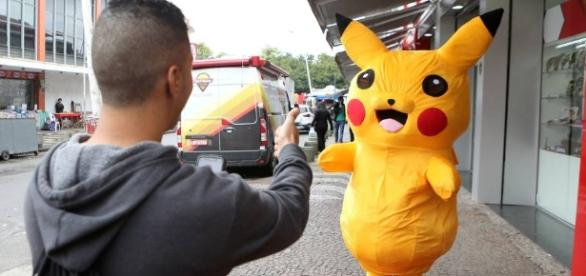 Pokémon Go aumenta vendas e shopping organiza evento