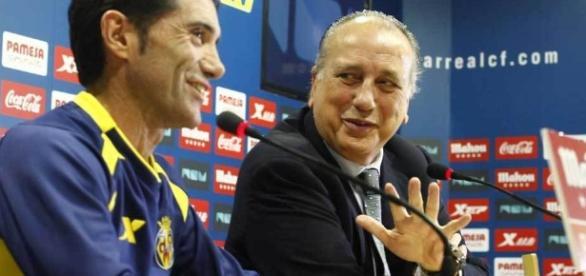 Villarreal: Roig atiza a Marcelino y su 'apoyo' al Sporting ... - marca.com