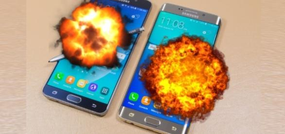 Baterias do celular Samsung está explodindo e deixando usuários em pânico