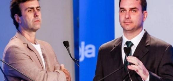 Bolsonaro e Freixo - Foto/Divulgação: RedeTV!