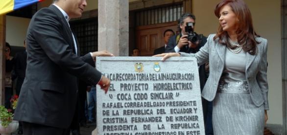 Palacio de Carondelet, visita de la Presidenta de la República de ... - flickr.com