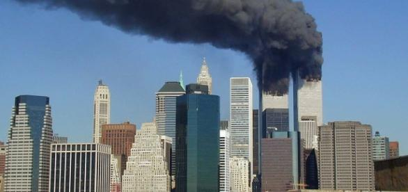The Twin Tours in New York that were attacked on September 11, 2001 / Photo via Michael Foran, Flickr