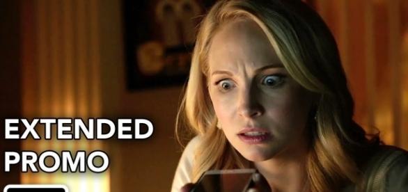 The Vampire Diaries 8ª temporada: Caroline Forbes (Foto: CW/YouTube)