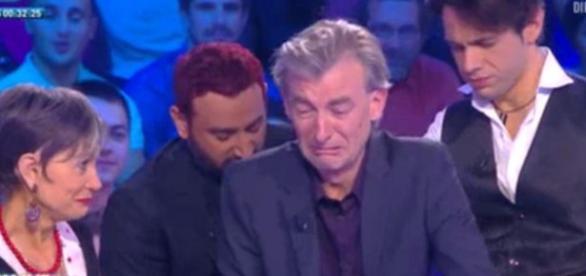 Gilles Verdez en larmes après avoir été hypnotisé