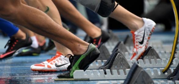 Les sportifs de l'équipe paralympique Russe se sont affrontés entre eux dans des Jeux Alternatifs, près de Moscou.